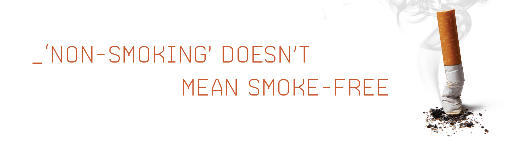 'Non-Smoking' Doesn't Mean Smoke-Free